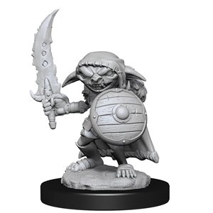 Pathfinder Deep Cuts Unpainted Miniatures: Wave 13: Goblin Fighter Male