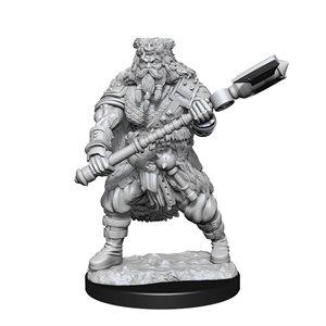D&D Nolzur's Marvelous Miniatures: Wave 14: Human Barbarian Male ^ MAR 2021