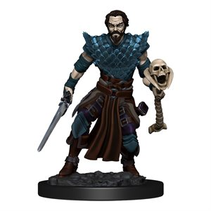 D&D Minis: Icons of the Realms Premium Painted Figures Wave 4: Human Warlock Male ^ DEC 2020