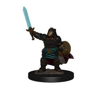 D&D Minis: Icons of the Realms Premium Painted Figures Wave 4: Dwarf Paladin Female ^ DEC 2020