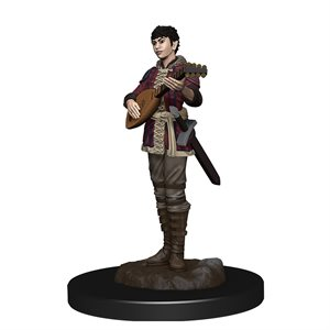 D&D Minis: Icons of the Realms Premium Painted Figures Wave 4: Half-Elf Bard Female ^ DEC 2020