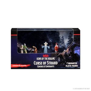 D&D Minis: Icons of the Realms: Curse of Strahd: Covens & Covenants Premium Box ^ OCT 7 2020