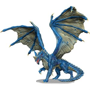 D&D Minis: Icons of the Realms: Premium Figure: Adult Blue Dragon ^ APR 28 2021
