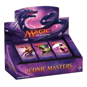 Magic the Gathering: Iconic Masters Booster