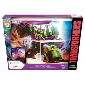 Transformers TCG: Wave 2 Devastator Deck (No Quebec Sales)
