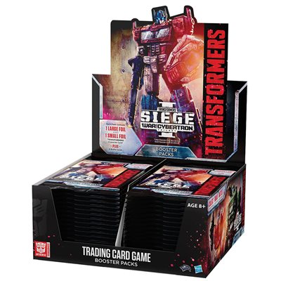 Transformers TCG: Wave 3 War for Cybertron: Siege 1 Booster (No Quebec Sales)