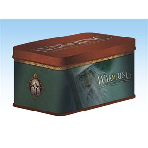War of the Ring Second Edition: Card Box and Sleeves (Gandalf Version)