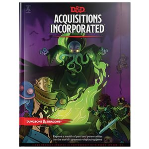 Dungeons & Dragons: Acquisitions Incorporated (BOOK) ^ Jun 18, 2019