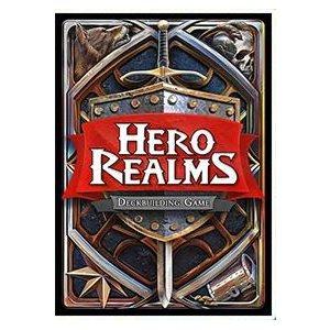 Hero Realms Sleeves (60) ^ MAY 2021