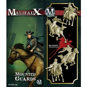 Malifaux 2nd Ed: Guild: Mounted Guards (Updated to M3E)
