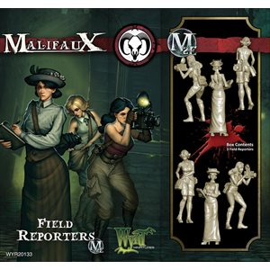 Malifaux 2nd Ed: Guild: Field Reporters (Updated to M3E)