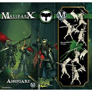 Malifaux 2nd Ed: Resurrectionists: Ashigaru (Updated to M3E)