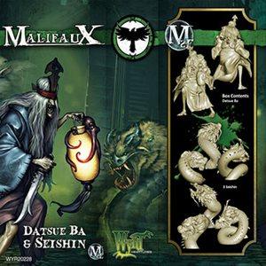 Malifaux 2nd Ed: Resurrectionists: Datsu Ba & Seishen (Updated to M3E)