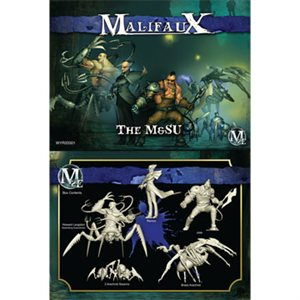 Malifaux 2nd Ed: Arcanists: The M&Su Crew (Updated to M3E)