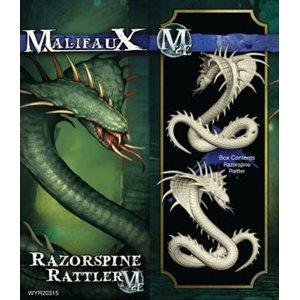Malifaux 2nd Ed: Arcanists: Razorspine Rattler (Updated to M3E)