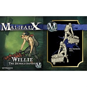 Malifaux 2nd Ed: Arcanists: Willie (Updated to M3E)