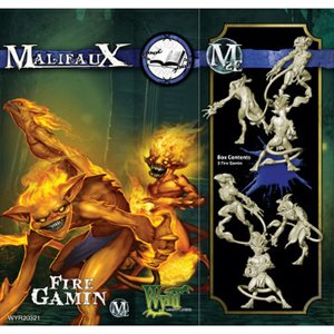 Malifaux 2nd Ed: Arcanists: Fire Gamin (Updated to M3E)
