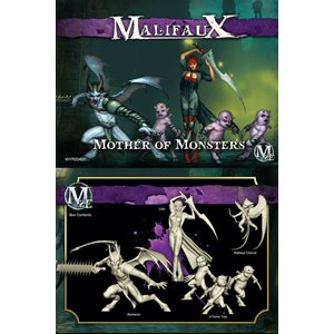 Malifaux 2nd Ed: Neverborn: Mother Of Monsters Crew (Updated to M3E)