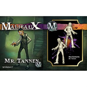 Malifaux 2nd Ed: Neverborn: Mr Tannen (Updated to M3E)