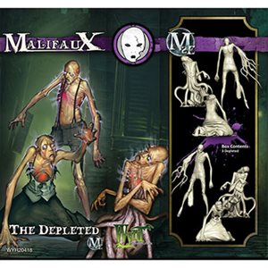 Malifaux 2nd Ed: Neverborn: Depleted (3) (Updated to M3E)