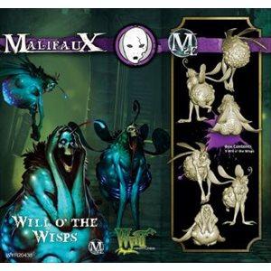 Malifaux 2nd Ed: Neverborn: Will o' Wisps (3) (Updated to M3E)