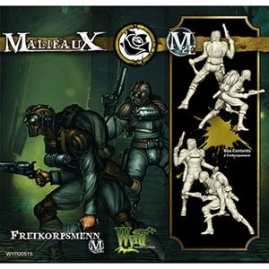 Malifaux 2nd Ed: Outcasts: Freikorpsmann (Updated to M3E)