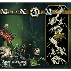 Malifaux 2nd Ed: Outcasts: Abominations (4) (Updated to M3E)
