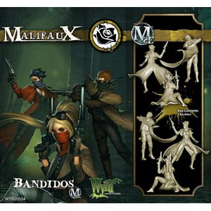 Malifaux 2nd Ed: Outcasts: Bandidos (Updated to M3E)