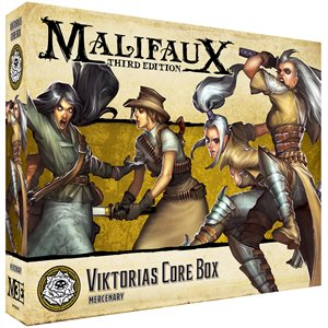 Malifaux 3E: Outcasts: Viktorias Core Box