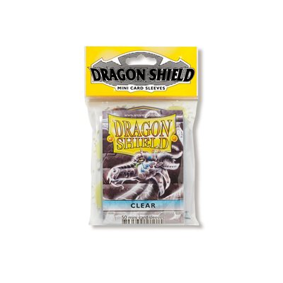 Sleeves: Dragon Shield Japanese Clear (50)