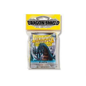 Sleeves: Dragon Shield Japanese Black (50)