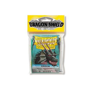 Sleeves: Dragon Shield Japanese Green (50)