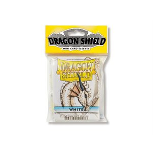 Sleeves: Dragon Shield Japanese White (50)