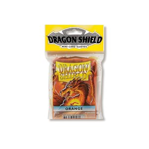 Sleeves: Dragon Shield Japanese Orange (50)