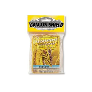Sleeves: Dragon Shield Japanese Yellow (50)