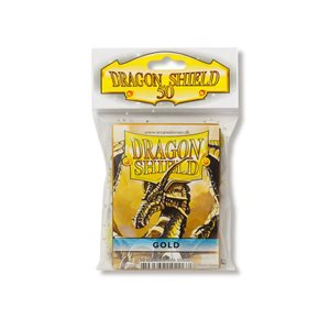 Sleeves: Dragon Shield Gold (50)