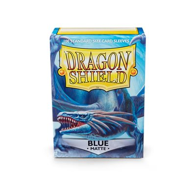 Sleeves: Dragon Shield Matte Blue (100)
