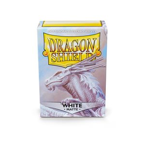 Sleeves: Dragon Shield Matte White (100)
