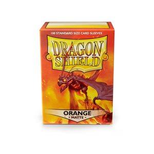 Sleeves: Dragon Shield Matte Orange (100)