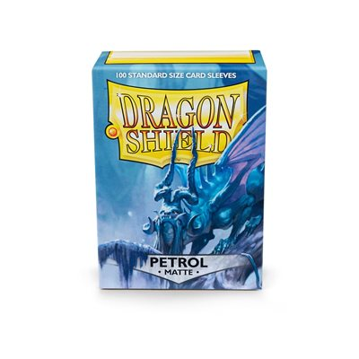 Sleeves: Dragon Shield Matte Petrol (100)