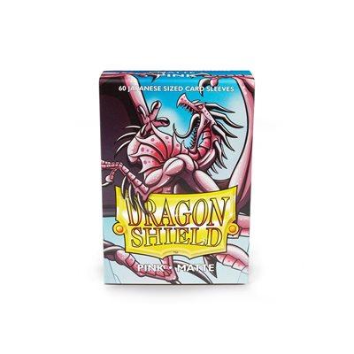 Sleeves: Dragon Shield Matte Japanese Pink (60)
