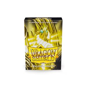 Sleeves: Dragon Shield Matte Japanese Yellow (60)