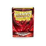 Sleeves: Dragon Shield Matte Crimson (Red) (60)