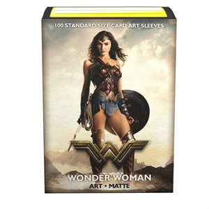 Sleeves: Dragon Shield Limited Edition Matte Art: Justice League Wonder Woman (100)