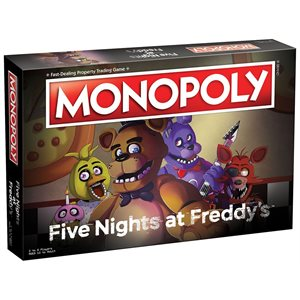 Monopoly: Five Nights at Freddy's (No Amazon Sales)