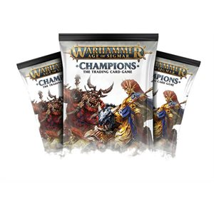 Warhammer Age of Sigmar Champions CCG: Booster Display