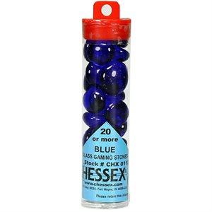 Stones: Dark Blue Glass (20+) in a tube