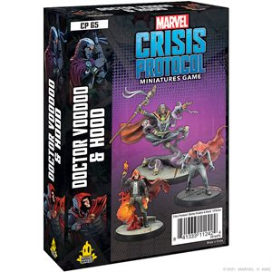 Marvel Crisis Protocol: Doctor Voodoo & Hood Character Pack ^ OCT 1 2021
