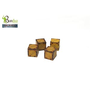 4 Crates Set (Unpainted / Unassembled)