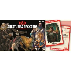 Dungeons & Dragons: Creature and NPC Cards ^ NOV 16 2019